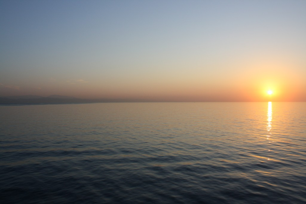 Dawn close to Barcelona, Foto: A.W.